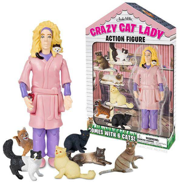 Action Firgure: Crazy Cat Lady