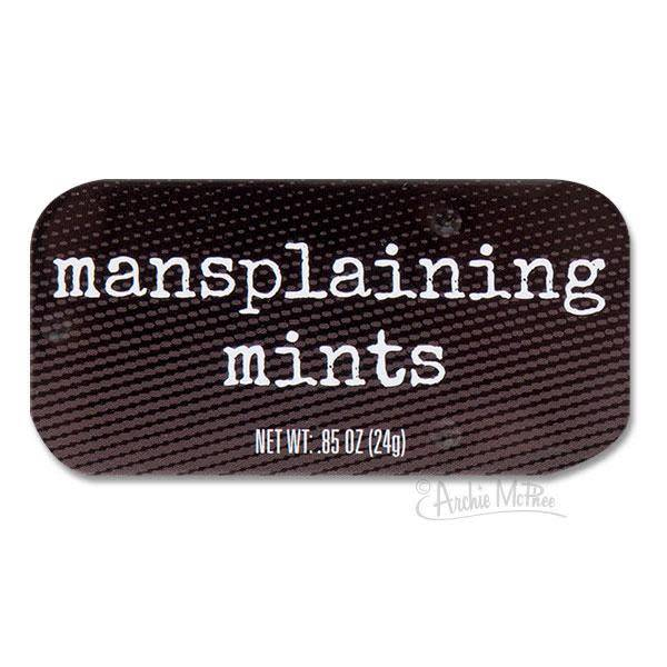Archie McPhee Mints: Mansplaining