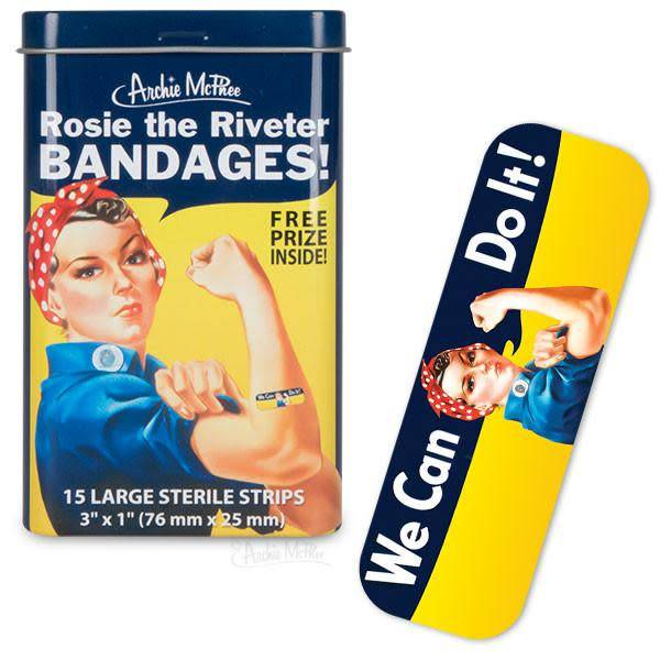 Archie McPhee Rosie The Riveter Bandages