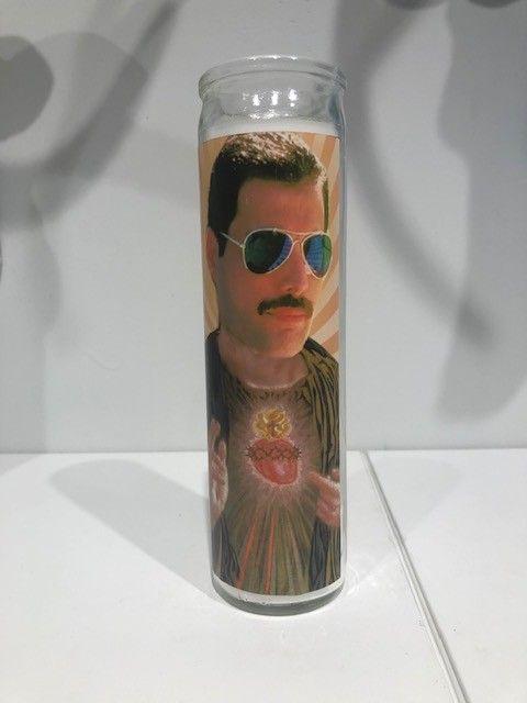 Freddy Mercury Candle