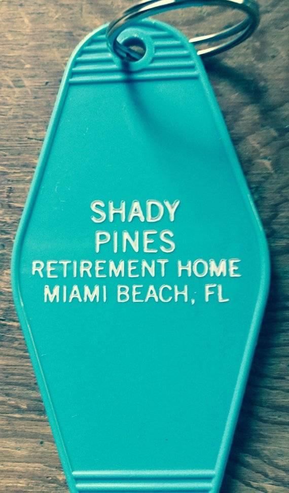 David Mason Golden Girls Shady Pines (teal)