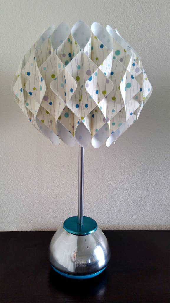 allenstecker Honeycomb Table Lamp w/ Mirror Glass Base