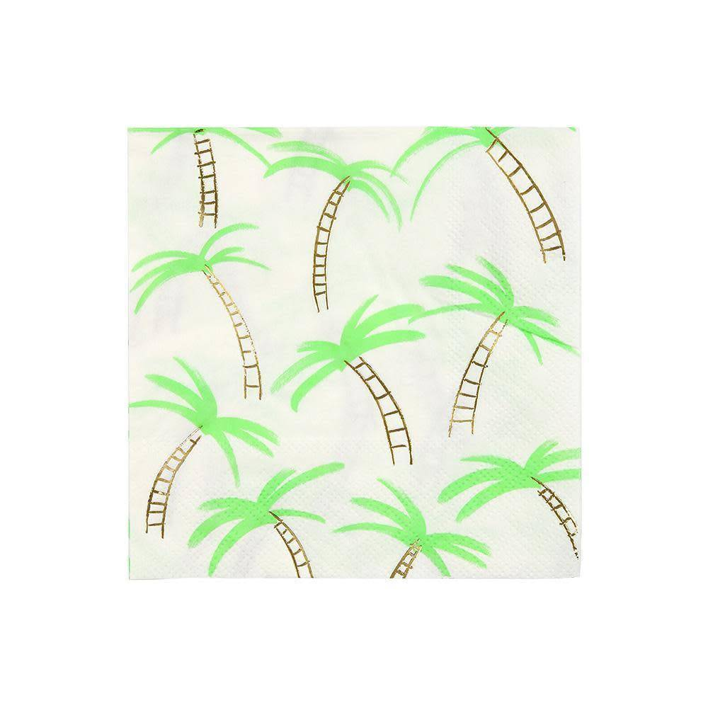 Meri Meri Palm Tree Napkin S