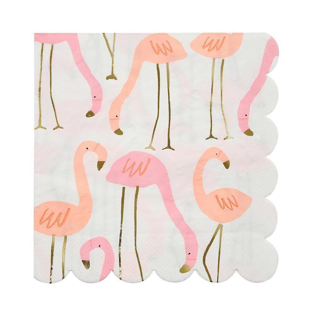 Meri Meri Flamingo Napkin Large