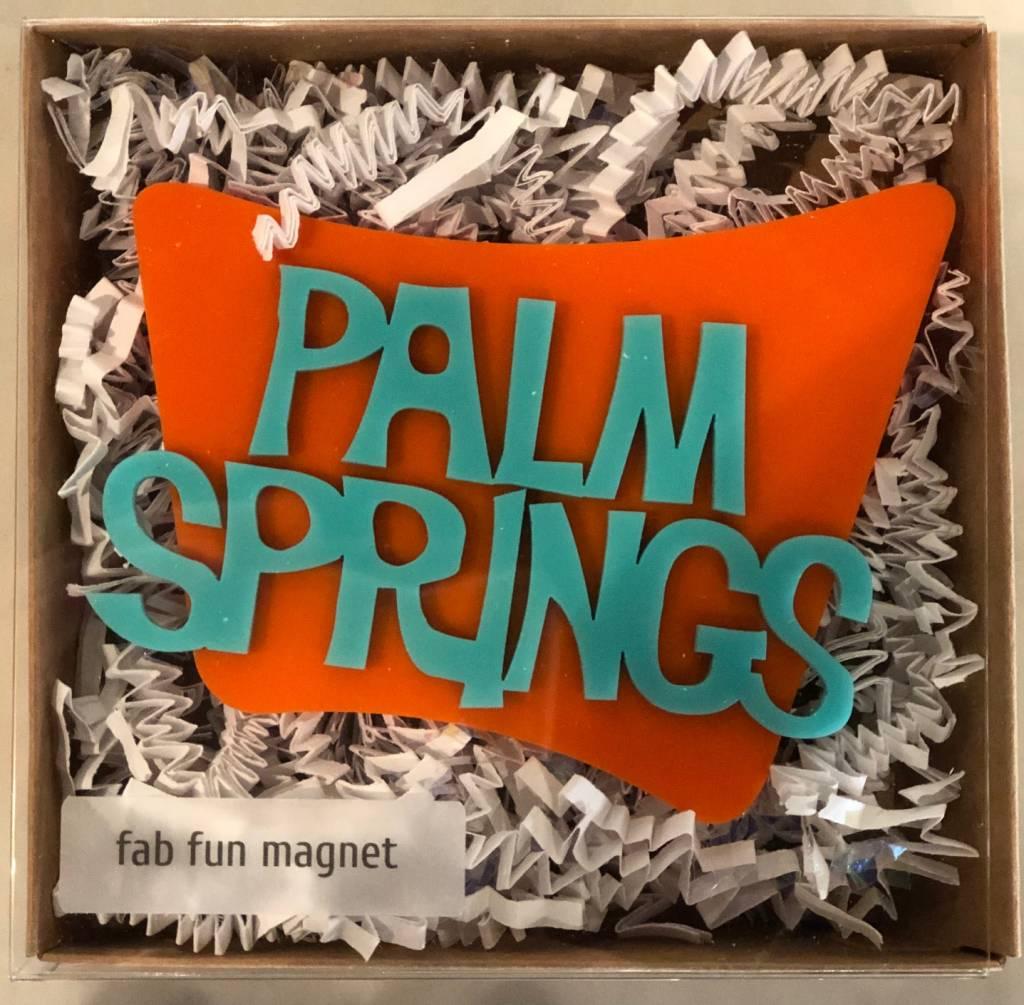 atomickraftworks Palm Springs Googie Magnet