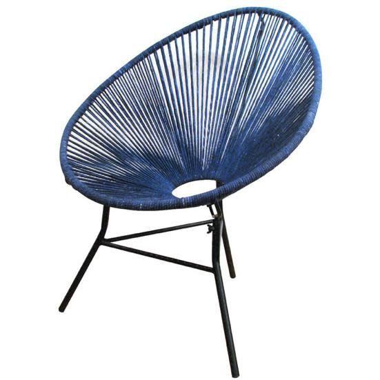 Roost Ellipse Chair: Indigo