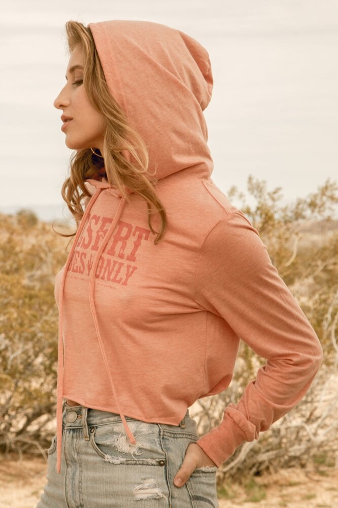 Twin Palms Desert Vibes Cropped Hoodie