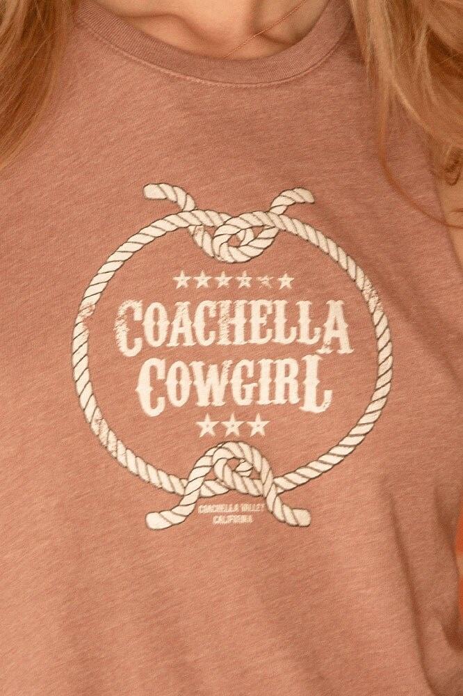 Twin Palms Coachella Cowgirl Racerback Tank