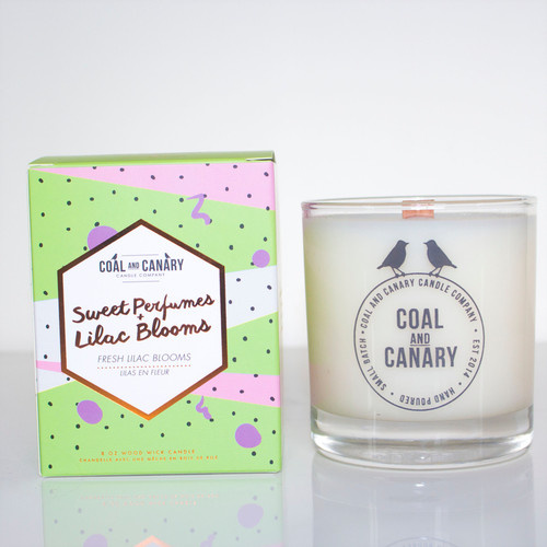 Coal And Canary Lilac Blooms & Sweet Perfumes