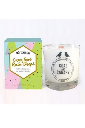 Coal And Canary Crop Tops & Rain Drops