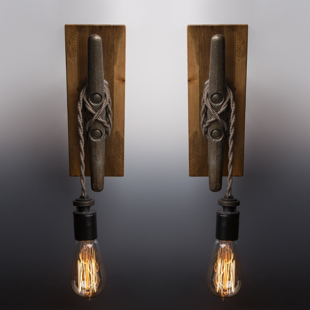 Luke Hobbs Wall Sconces: set of 2