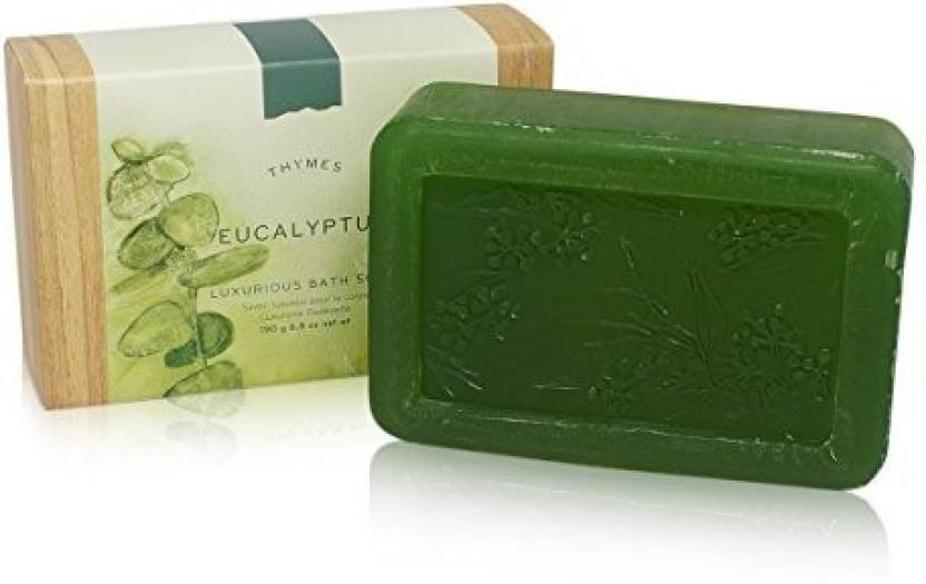 Thymes Eucalyptus Luxurious Bath Soap