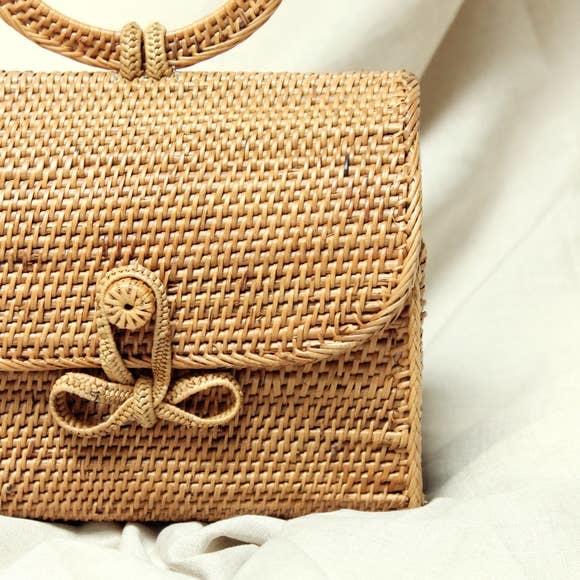 Brunna Atta Mandailing Straw Bag