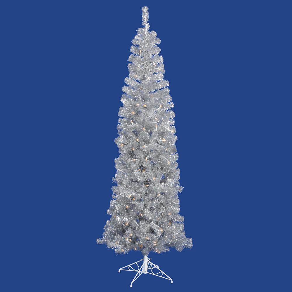 vickerman Silver Pencil Tree