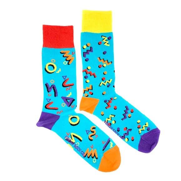 fridaysockco 80's Party socks
