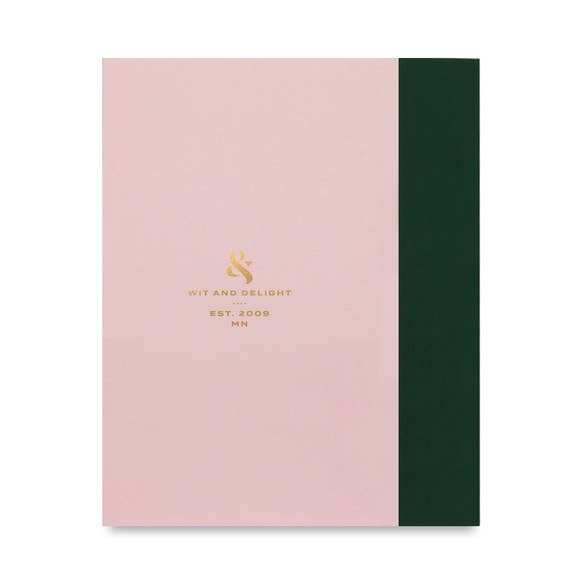 Wit & Delight Classic Pink Journal