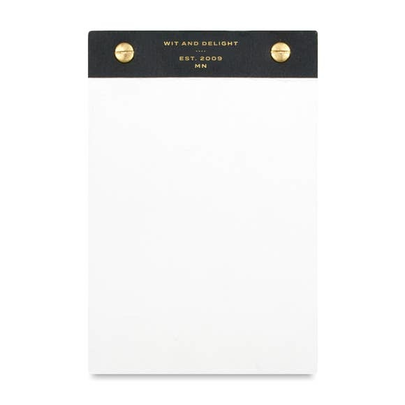 Wit & Delight Desktop Notepad (black)
