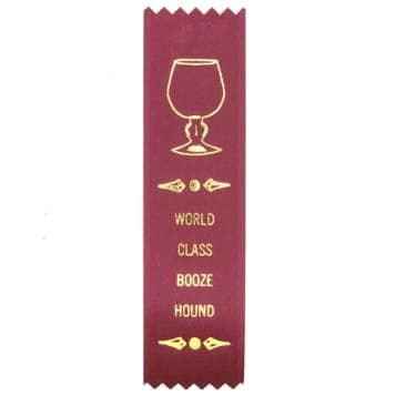 AdultingFTW Boozehound ribbon