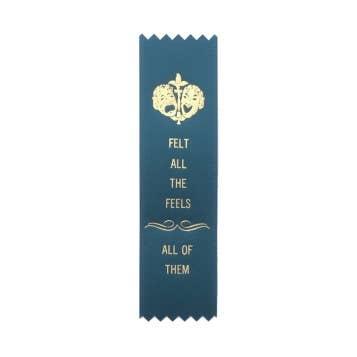 AdultingFTW All The Feels ribbon