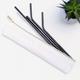 LastStraw Set of 6 Straws: Black