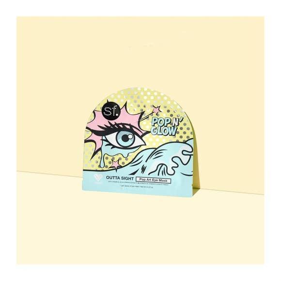 SF Glow Outta Sight Pop Art Eye Mask