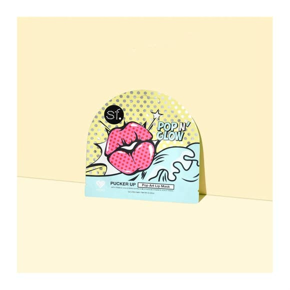 SF Glow Pucker Up Pop Art Lip Mask