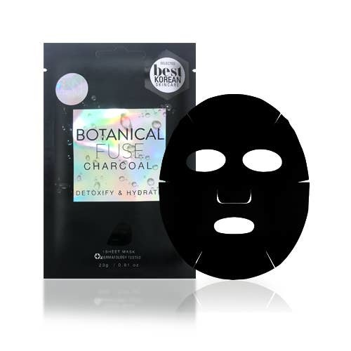 SF Glow Botanical Fuse Sheet Mask: Charcoal