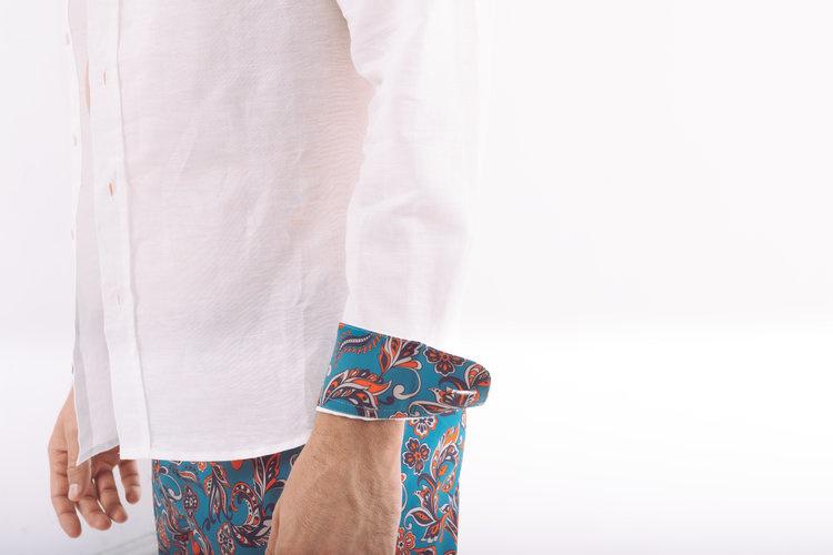 ArgyleGrant Long Sleeve Linen