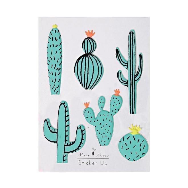 Meri Meri Cactus Stickers
