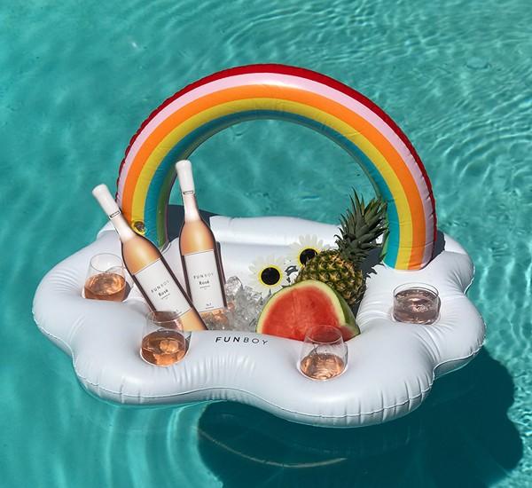 Funboy Inc. Rainbow Cloud Drink Cooler