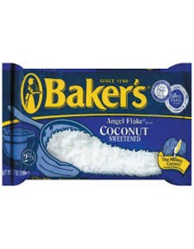 Baker's Baker's Angel Flake Coconut, 7 oz