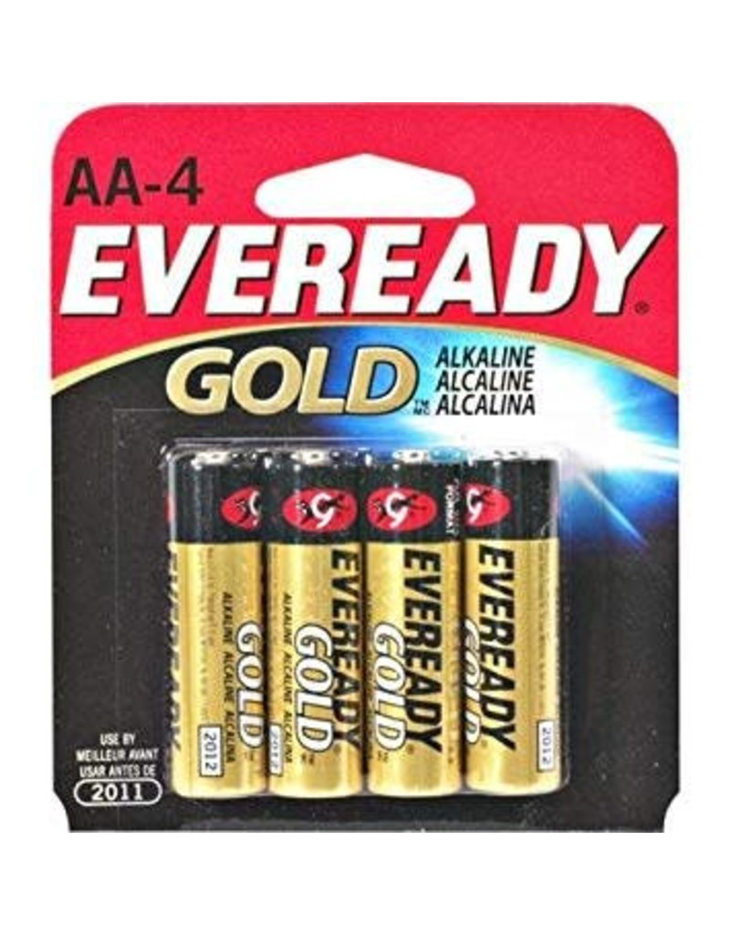 Eveready Eveready AA Batteries, 4 ct