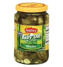 Nalley Nalley Dill Baby Banquet Pickles, 24 oz