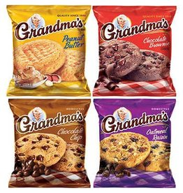 Grandma's Grandma's Homestyle Cookie Variety Pack, 2.5 oz, 33 ct