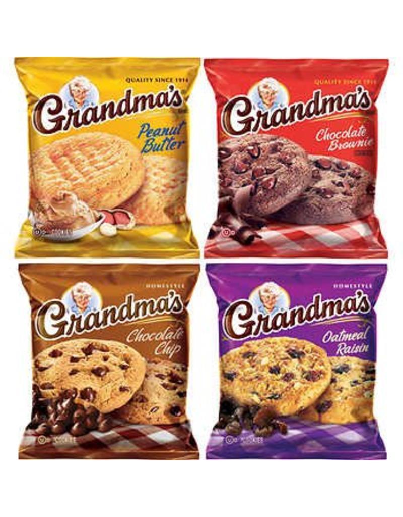 Grandma's Grandma's Homestyle Cookie Variety Pack, 2.5 oz, 33 ct
