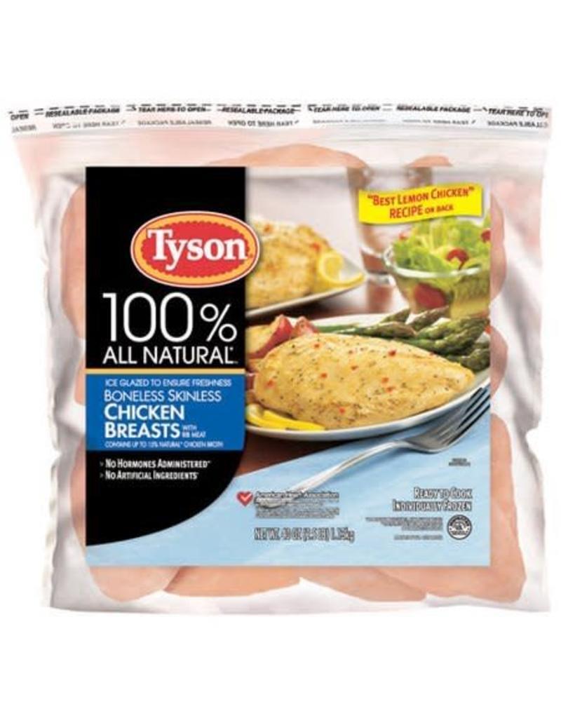 Tyson Foods Tyson Boneless/Skinless Chicken Breast IFF, 2.5 lb, 12 ct