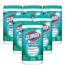 Clorox Clorox Disinfecting Wipes Fresh Scent, 75 ct (Pack of 6)