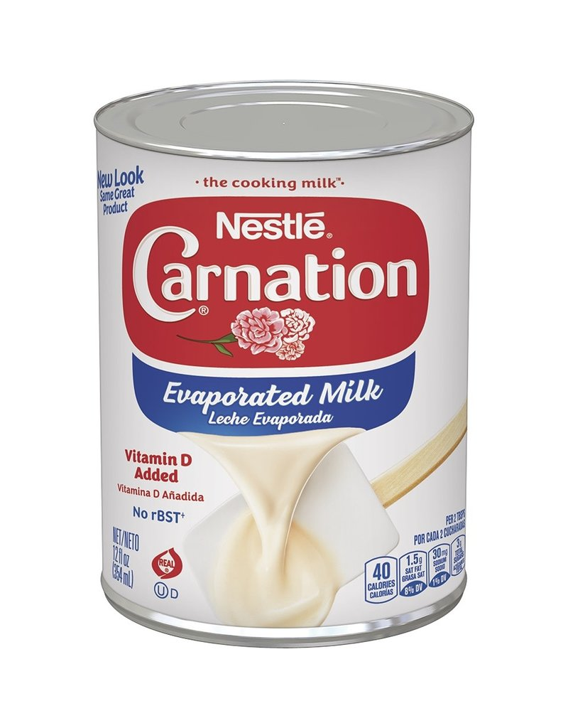 Carnation Carnation Evaporated Milk with Vitamin D, 12 oz, 12 ct