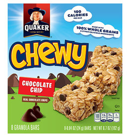 Quaker Quaker Chewy Chocolate Chip Granola Bars, 6.72 oz