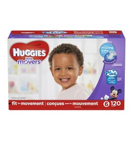 Huggies Huggies Lil' Movers Size 6 Diapers, 120 ct