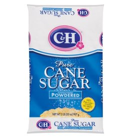 C&H C&H Cane Sugar Powdered, 2 lb