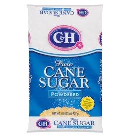 C&H C&H Cane Sugar Powdered, 2 lb, 16 ct