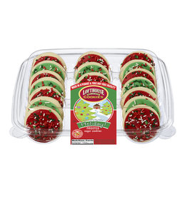 Loft House Loft House Holiday Red Green Frosted Sugar Cookie, 27 oz