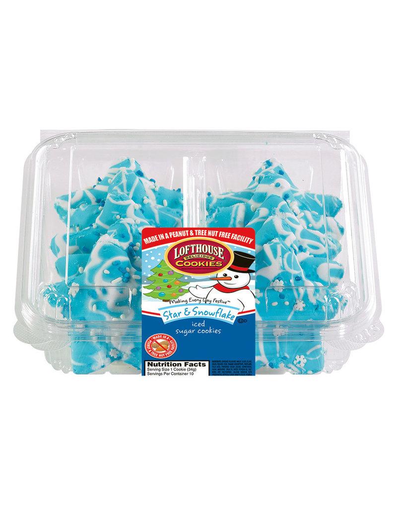Loft House Loft House Blue Star Ice Cookie, 14 oz