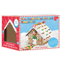 Create A Treat Create A Treat Gingerbread House Pre-Built Kit, 1.86 Lb