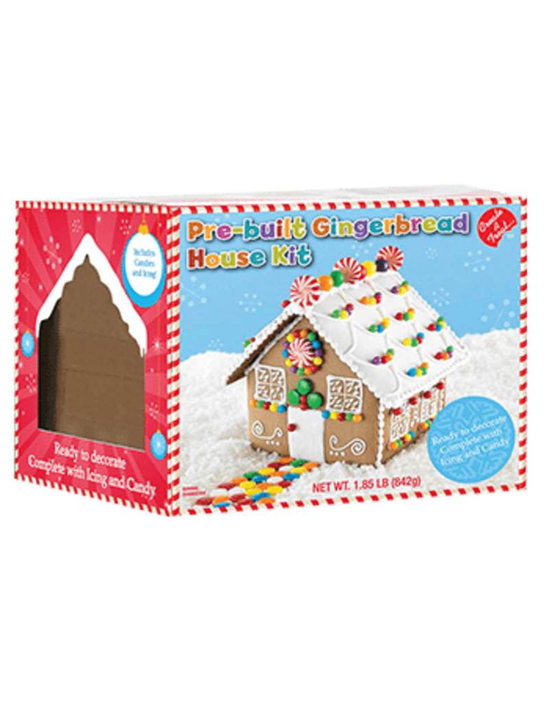 Create A Treat Create A Treat Gingerbread House Pre-Built Kit, 1.86 Lb