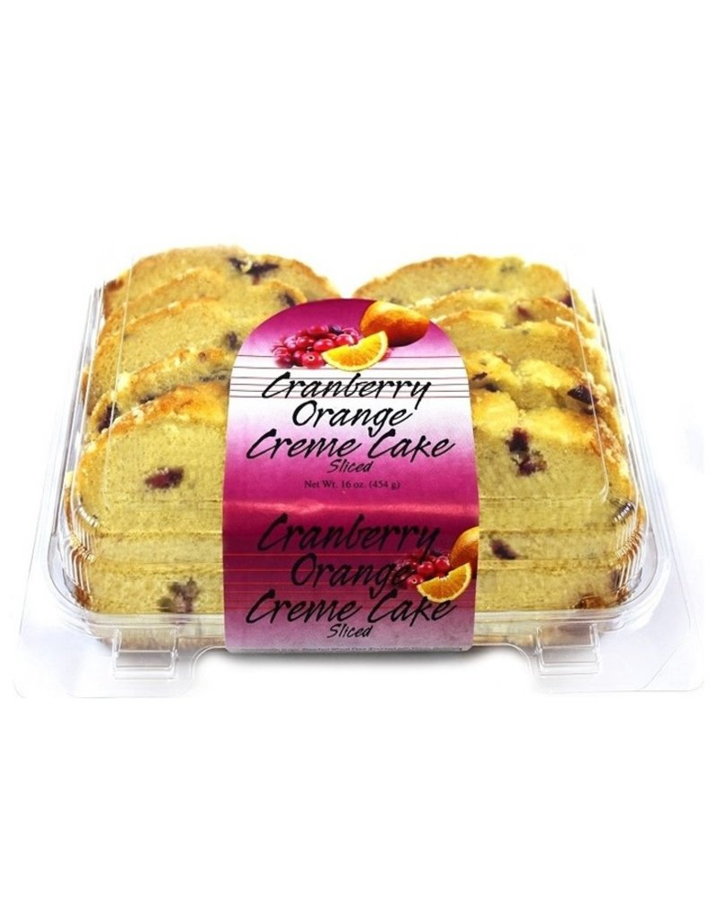 Olson's Olson's Cranberry Orange Cake Slice, 16 oz