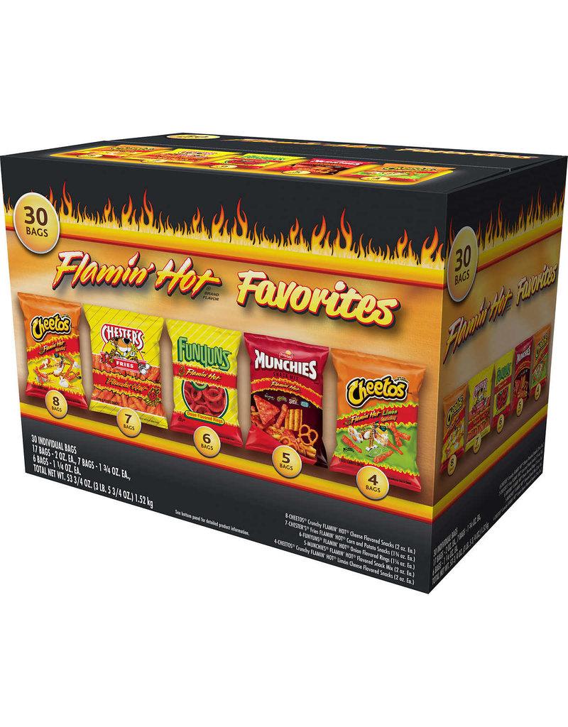 Frito Lay Frito Lay Chips Flamin' Hot Chip Variety Pack, 30 ct