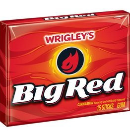 Big Red Big Red Gum PTP, 15 ct (Pack of 10)