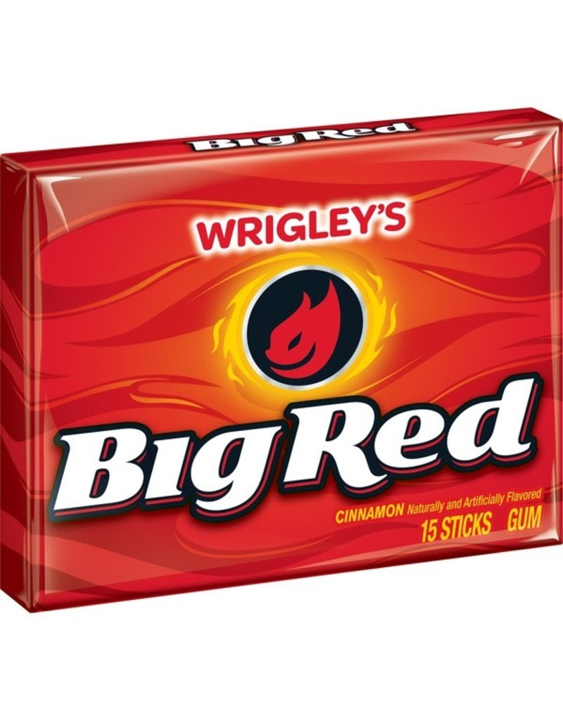 Big Red Big Red Gum PTP, 15 ct (Pack of 10)